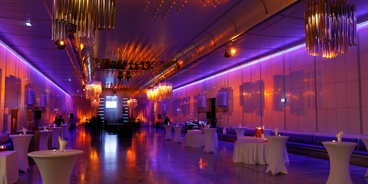 Welcome reception and exhibition area